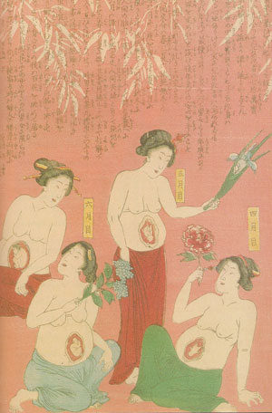 pregnant-mothers-circle-waxing-moon-mamas-japanese-300x456